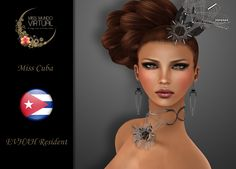 https://flic.kr/p/xYddBd | Miss Cuba - EVHAH Resident | Aquí están! Tenemos el inmenso honor de presentales a las Candidatas Oficiales a Miss Mundo Virtual 2016, una de ellas será la próxima representante de la Belleza Latina.