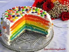 Sarokkonyha: Szivárvány torta és szülinapi ajándék Minion, Birthday Cake, Sweets, Food, Recipes, Sweet Pastries, Birthday Cakes, Goodies, Essen