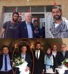 McCain, ISIS and 'Never Trumpers' 'Were it not for an fortuitous picture spotted today – a connection would never have been possible. As such please consider this outline an important addendum to The Benghazi …