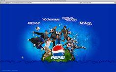 Pepsi Fútbol by Go Media , via Behance
