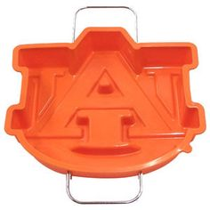 Need this for Auburn Tailgate treats. Silicone cake Pan | Auburn University Bookstore. War Eagle! RollTideWarEagle.com great sports stories, audio podcast and FREE on line tutorial of college football rules. #CollegeFootball