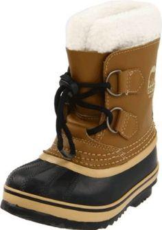 Sorel Yoot Pac Leather 1443 Waterproof Winter Boot (Toddler/Little Kid),Mesquite,8 M US Toddler SOREL. $67.45