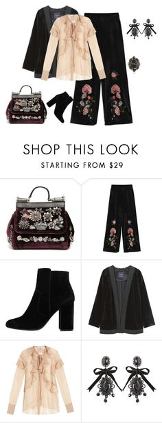 """""""outfit 5236"""" by natalyag ❤ liked on Polyvore featuring Dolce&Gabbana, MANGO, Violeta by Mango, Givenchy, Dsquared2 and Gucci"""