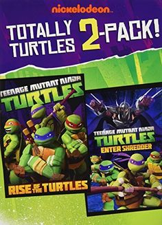 Teenage Mutant Ninja Turtles Totally Turtles 2 Pack DVD LIMITED EDITION 2 PACK Rise of the Turtles / Enter Shredder Includes TMNT Poster, http://www.amazon.com/dp/B00DXEYKII/ref=cm_sw_r_pi_awdm_0yxNvb0G69KFT
