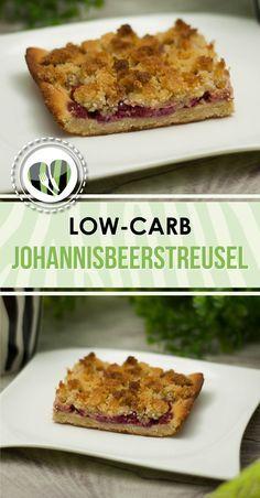 Der Johannisbeerstreusel ist low-carb und glutenfrei.