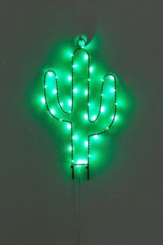 Light-Up Cactus Wall Hook | Urban Outfitters