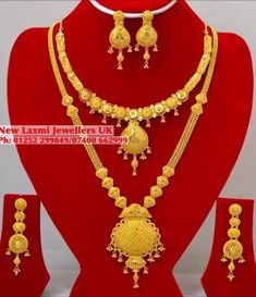 Gold Ring Designs, Gold Earrings Designs, Gold Jewellery Design, Necklace Designs, Gold Necklace Simple, Gold Jewelry Simple, Gold Necklaces, Gold Bangles, Gold Wedding Jewelry