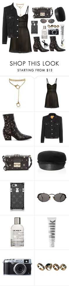 """yeah it's so nice"" by millicent4 ❤ liked on Polyvore featuring Just Cavalli, Matisse, Balenciaga, RED Valentino, Eugenia Kim, Jean-Paul Gaultier, Le Labo, MILK MAKEUP, Fujifilm and ALDO"