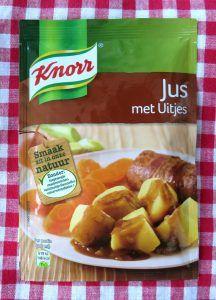 Knorr jus met uitjes, vegan