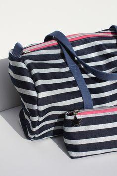 sac polochon lurex lurex duffle bag sac mariniere