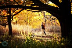 Time to go scouting for pretty places in the fall for engagement pics!!! :)