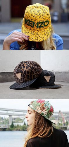 Snapback - no longer just a hip hop fashion Hip Hop Fashion, Daily Fashion, Fashion Beauty, Street Fashion, Looks Style, My Style, Dance Gear, Cap Girl, Urban Fashion Trends