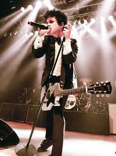 """Green Day at the House of Blues Cleveland """" Billie Joe keeps getting more handsome,more creative, and more wonderful, the older he gets…"""