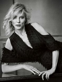 Cate Blanchett, photographed byMark Abrahams for GQ, Dec 2015.