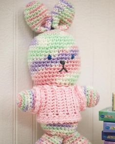 Best Free Crochet » **Free Crochet Pattern** My First Bunny From RedHeart.com