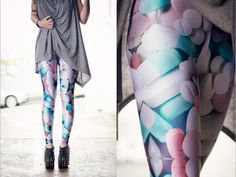 Pills leggings. Prescribe yourself today - http://blackmilkclothing.com/collections/leggings/products/pills-leggings