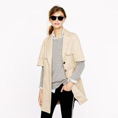 J.Crew - Collection cape trench