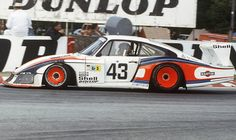 Porsche 935  One of the more wild 911 derivatives, the 935 is also perhaps the most famous and thus earns its own entry here. Its greatest Le Mans moment came when the Kremer machine of Klaus Ludwig/Don Whittington/Bill Whittington took overall victory in 1979, but surely the coolest was the prototype-scaring works 935/78 'Moby Dick' of 1978
