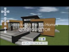 Virtual 3-D pre-fab home configurator to play around with!