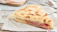 Focaccia in padella Focaccia Pizza, Bread And Pastries, Pizza Dough, Bread Recipes, Cheese, Ethnic Recipes, Food, Pane Pizza, Italian Style