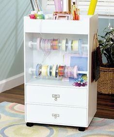 gift wrap storage, portabl craft, closet organization, organization crafts, gift wrapping station