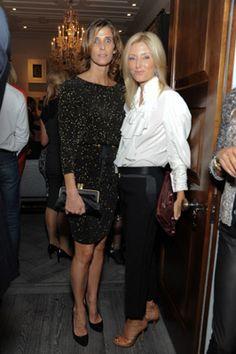 Fashion Assistance: Gwyneth Paltrow, nueva imagen de Coach, en la inaguración de la tienda de la firma en Londres con Rosario Nadal y Marie Chantal Miller