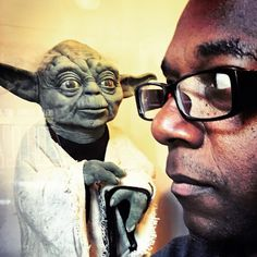 """""""feels like…like we're being watched!"""" #yoda (at Skywalker Sound)"""