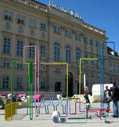 PPAG_Bicycle stand  Design Museumsquartier Wien 2010 Museumsplatz 1, 1070 Wie