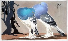Ethleen Palmer (1906-1958)  Pouter Pigeons, 1934