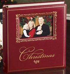 I keep meaning to order this...an album that holds our family card from each year