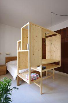 * Aina meuble multifonctions par TEd'A arquitectes