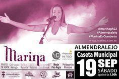 Incondicional de Marina - Marina Concierto en Almendralejo ( Badajoz)