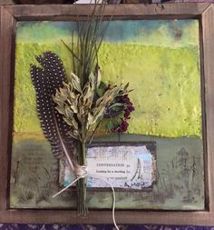 Weathered encaustic by Amy Willcut