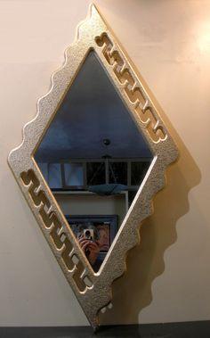 Χειροποίητη δημιουργία μου σε ξύλο-βαφή λεπτή ανάγλυφη σε χρυσό-καφέ αράχνη-υπάρχει δυνατότητα διαφοροποιήσεων. Mirror, Frame, Furniture, Home Decor, Picture Frame, Decoration Home, Room Decor, Mirrors, Home Furnishings