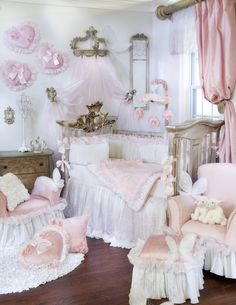 Too girly?? As it turns out, I think I like it frilly and pink.