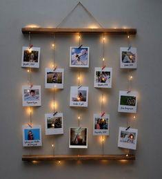 Teenage Girl Gifts Christmas, Christmas Gifts For Mom, Christmas Crafts, Christmas Gift Baskets, Christmas Tree Decorations, Diy Photo, Christmas Lights Wallpaper, Memory Frame, Cute Room Decor