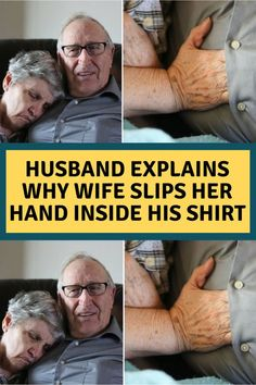 #A #man #has #shared #his #incredible #love #story #with #his #wife #to #Humans #of #New #York, #and #it's #leaving #the #internet #in #tears. Husband Explains Why Wife Slips Her Hand Inside His Shirt