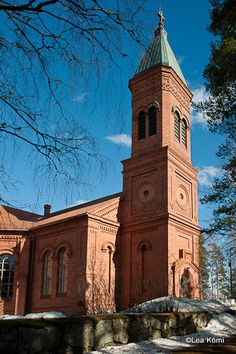 Lea Kömin valokuvablogi: Lopen kirkko Finland, Notre Dame, Castles, Landscape, Building, Travel, Monuments, Buildings, History