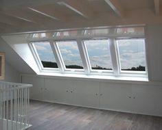 Inside: In the attic . Attic Loft, Loft Room, Attic Spaces, Small Spaces, Barn Renovation, Interior And Exterior, Interior Design, Dormer Windows, Attic Bedrooms