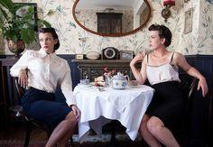 Marmalade Vintage - Brighton-based ASOS Boutique. Photo taken at Blackbird Tea Rooms.