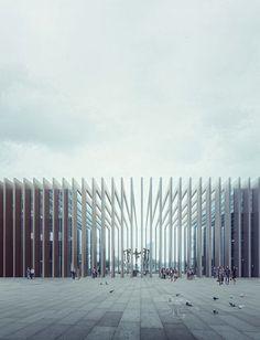 E3 West - E3 East | Mario Cucinella Architects Location: Porta Nuova di Milano Render: MIR