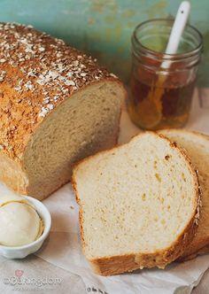 Homemade Honey Oat bread..yum!
