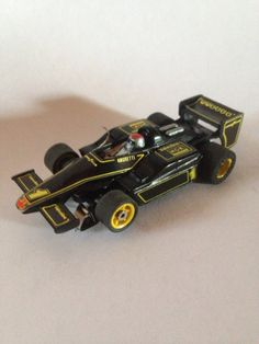 John Player Special F1 style AFX vintage slot car