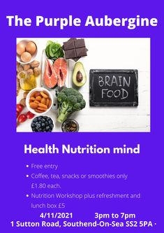 After the first event success, The Purple Aubergine is coming back with many news and tips. If you are interested in well-being in the field of Nutrition and Mind, you cannot miss it. Register now.