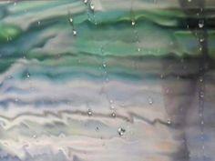 """catherine Cannat, pastelliste """"Le chant de la pluie"""" pastel sec 40x30 Chant, Pastels, Northern Lights, Rain, Aurora, Nordic Lights, Aurora Borealis"""