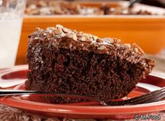 Chocolate Cola Cake From Mr. Food