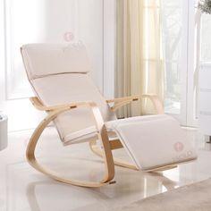 Rocking Chair Chaise à Bascule Fauteil Relaxant - Achat / Vente fauteuil - Cdiscount