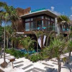 Mexico Mexico Mexico - Tulum  Oh if only i could afford a villa like this!