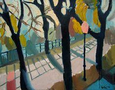 Promenade - Original Oil Painting on Canvas on Etsy, $500.00