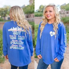 OMG! We are in love with our new Grey's Anatomy themed longsleeve shirt from the Jadelynn Brooke Choose Your Crew collection. Jadelynn Brooke knocked it out o